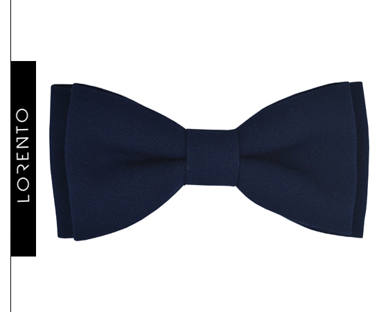Bow Tie Boy's dark blue