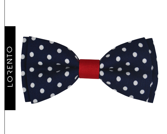 Boys bow tie with dots