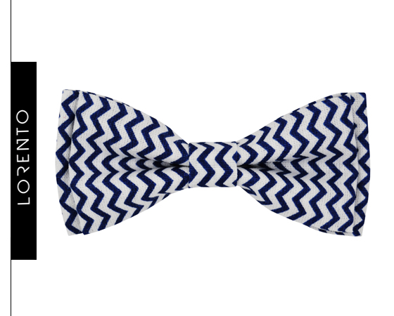 Bow Tie Boy's zigzags