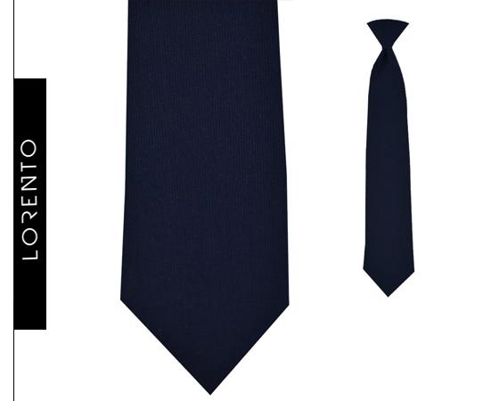 Tie boyish navy SLIM