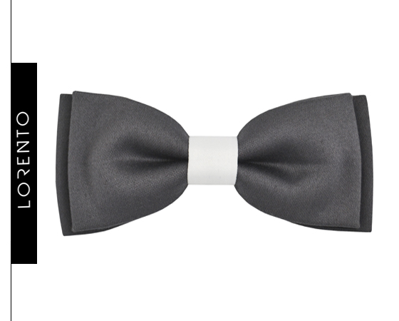 Bow Tie Boy's gray